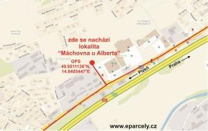 cesta-k-lokalitě-Máchovna