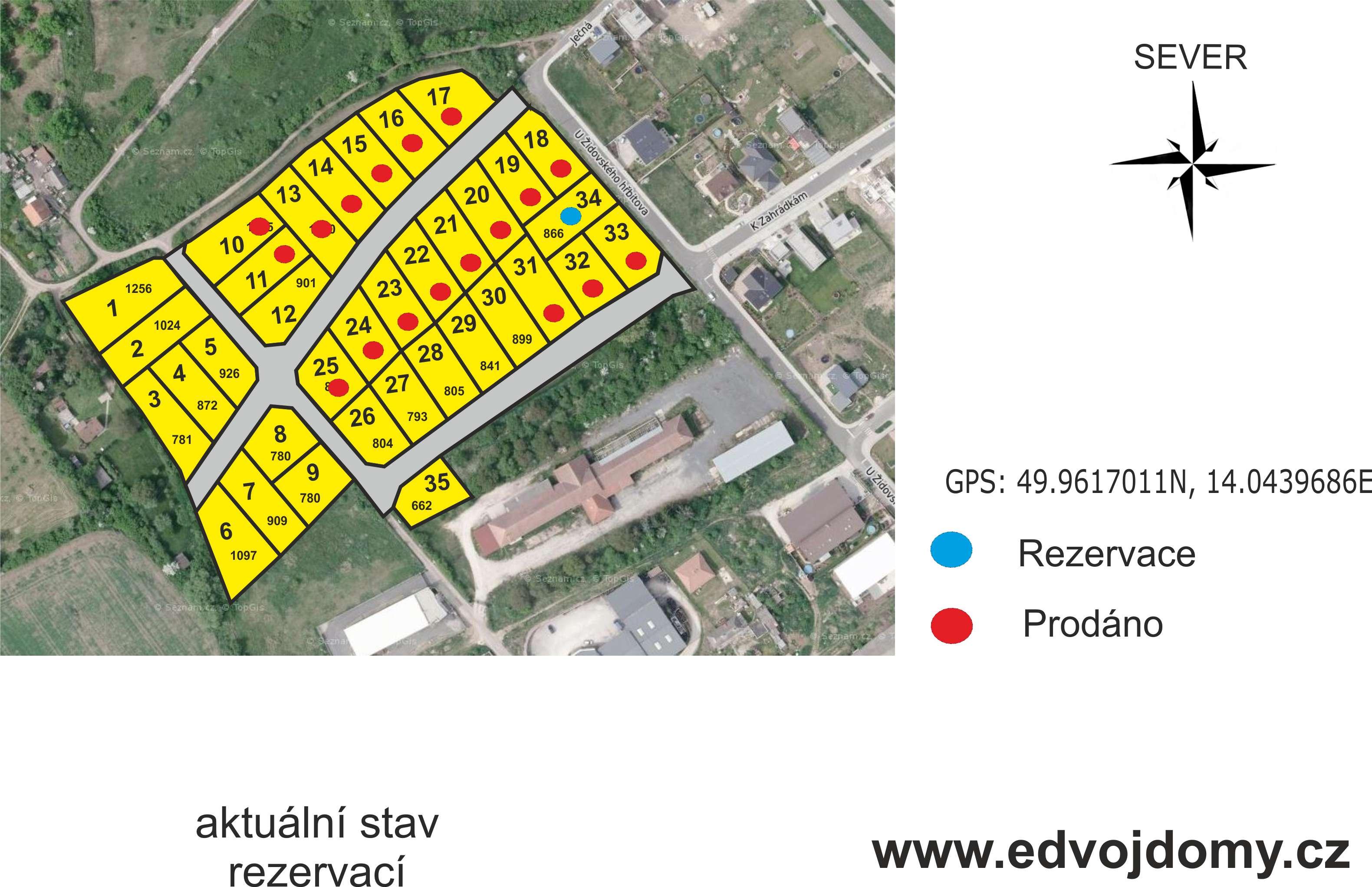 mapa rezervací H4
